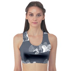 Japan Food Sashimi Sports Bra