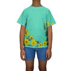 A New Day Kids  Short Sleeve Swimwear