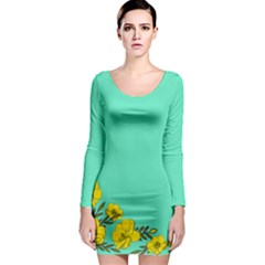 A New Day Long Sleeve Bodycon Dress