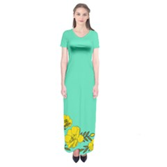 A New Day Short Sleeve Maxi Dress