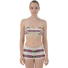 Rhombus And Stripes                      Perfect Fit Gym Set