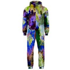 Color Mix Canvas                           Hooded Jumpsuit (men)