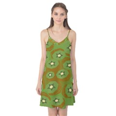 Relativity Pattern Moon Star Polka Dots Green Space Camis Nightgown