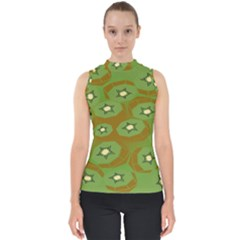 Relativity Pattern Moon Star Polka Dots Green Space Shell Top