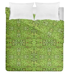 Digital Nature Collage Pattern Duvet Cover Double Side (queen Size)