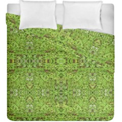 Digital Nature Collage Pattern Duvet Cover Double Side (king Size)