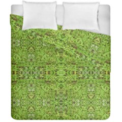Digital Nature Collage Pattern Duvet Cover Double Side (california King Size)
