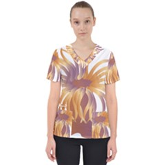 Sea Anemone Scrub Top