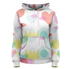 Tulip Lotus Sunflower Flower Floral Staer Love Pink Red Blue Green Women s Pullover Hoodie