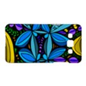 Star Polka Natural Blue Yellow Flower Floral Samsung Galaxy A5 Hardshell Case  View1
