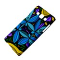 Star Polka Natural Blue Yellow Flower Floral Samsung Galaxy A5 Hardshell Case  View4