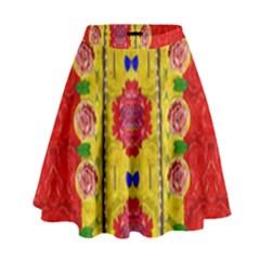Light Candles And The Fern Will Still Grow In The Summer High Waist Skirt