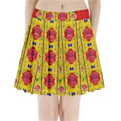 Light Candles And The Fern Will Still Grow In The Summer Pleated Mini Skirt