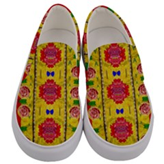 Light Candles And The Fern Will Still Grow In The Summer Men s Canvas Slip Ons