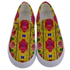 Light Candles And The Fern Will Still Grow In The Summer Kids  Canvas Slip Ons