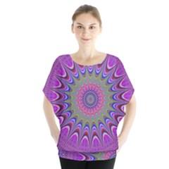 Art Mandala Design Ornament Flower Blouse