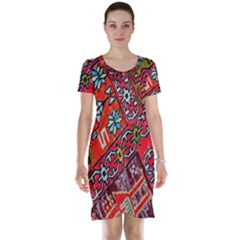 Carpet Orient Pattern Short Sleeve Nightdress