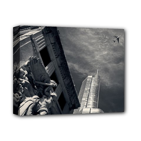 Chicago Skyline Tall Buildings Deluxe Canvas 14  X 11