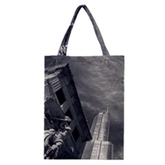 Chicago Skyline Tall Buildings Classic Tote Bag