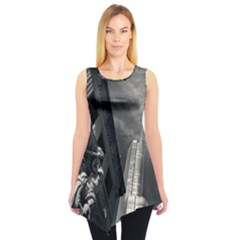 Chicago Skyline Tall Buildings Sleeveless Tunic