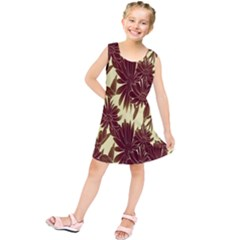 Floral Pattern Background Kids  Tunic Dress
