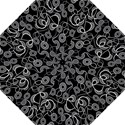 Floral Pattern Background Straight Umbrellas View1