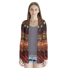 Florida State University Drape Collar Cardigan