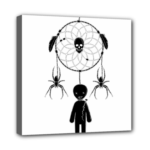 Voodoo Dream Catcher  Mini Canvas 8  X 8