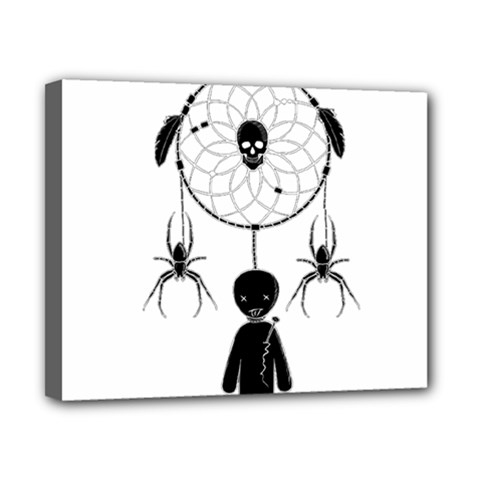 Voodoo Dream Catcher  Canvas 10  X 8