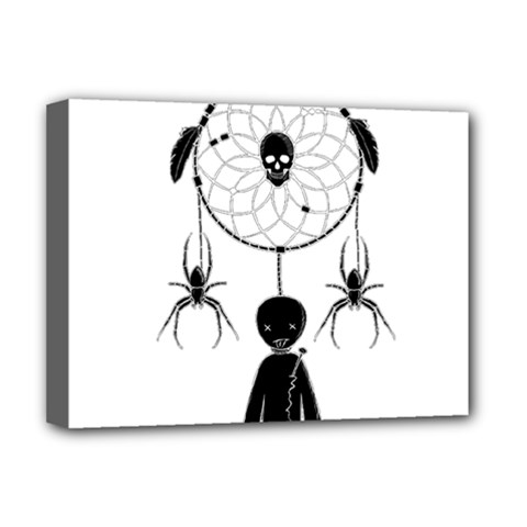 Voodoo Dream Catcher  Deluxe Canvas 16  X 12
