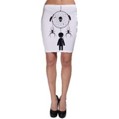Voodoo Dream Catcher  Bodycon Skirt
