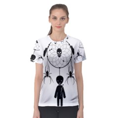 Voodoo Dream Catcher  Women s Sport Mesh Tee