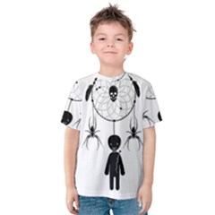 Voodoo Dream Catcher  Kids  Cotton Tee