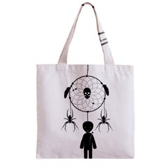 Voodoo Dream Catcher  Grocery Tote Bag