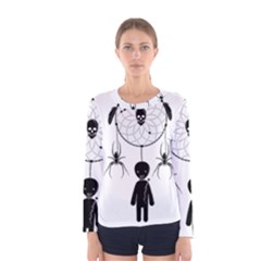 Voodoo Dream Catcher  Women s Long Sleeve Tee