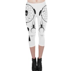 Voodoo Dream Catcher  Capri Leggings