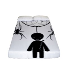 Voodoo Dream Catcher  Fitted Sheet (full/ Double Size)