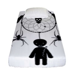 Voodoo Dream Catcher  Fitted Sheet (single Size)