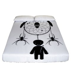 Voodoo Dream Catcher  Fitted Sheet (california King Size)