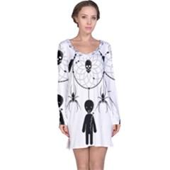 Voodoo Dream Catcher  Long Sleeve Nightdress