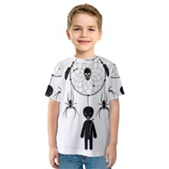 Voodoo Dream Catcher  Kids  Sport Mesh Tee