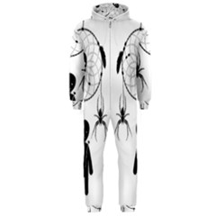 Voodoo Dream Catcher  Hooded Jumpsuit (men)