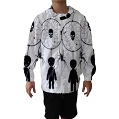 Voodoo Dream Catcher  Hooded Wind Breaker (kids)