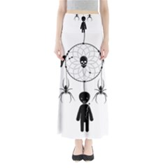 Voodoo Dream Catcher  Full Length Maxi Skirt