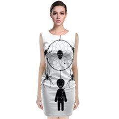 Voodoo Dream Catcher  Classic Sleeveless Midi Dress