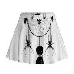 Voodoo Dream Catcher  Mini Flare Skirt