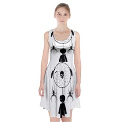 Voodoo Dream Catcher  Racerback Midi Dress