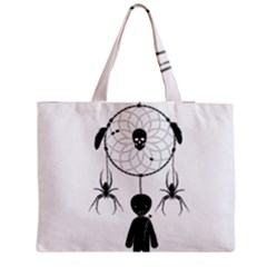Voodoo Dream Catcher  Zipper Medium Tote Bag
