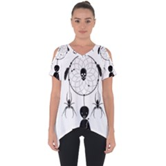 Voodoo Dream Catcher  Cut Out Side Drop Tee