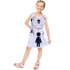 Voodoo Dream Catcher  Kids  Tunic Dress